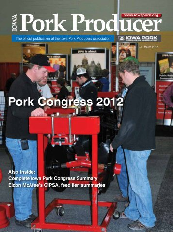 Pork Congress 2012 - Iowa Pork Producers Association