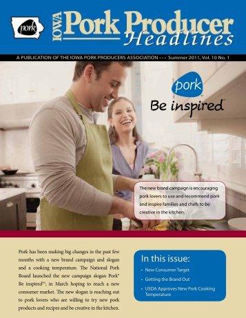 Summer 2011 - Iowa Pork Producers Association