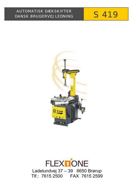 Flex1one automatisk dækstifter S419