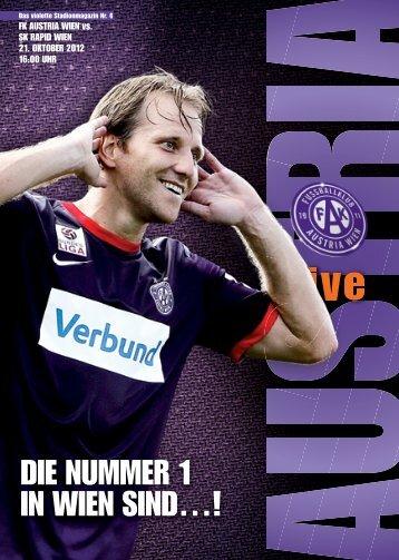 Spiele der Austria live! - FK Austria Wien