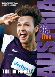 AUSTRIA LIVE 3 2011/12 - FK Austria Wien