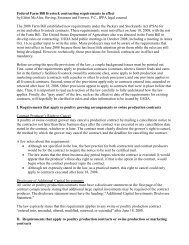 Federal Livestock Contracting Requirements - Iowa Pork Producers ...