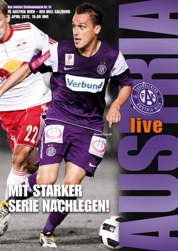 MIT STARKER SERIE NAchlEGEN! - FK Austria Wien