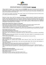 manuál - fs outlaw - Kiteboarding.cz