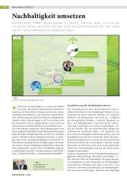 Nachhaltigkeit umsetzen - ZNU- Zentrum für Nachhaltige ...