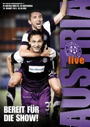 live - FK Austria Wien