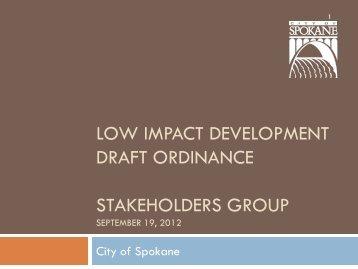 Presentation - Spokane Wastewater Management