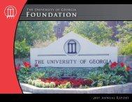Foundation - External Affairs - University of Georgia