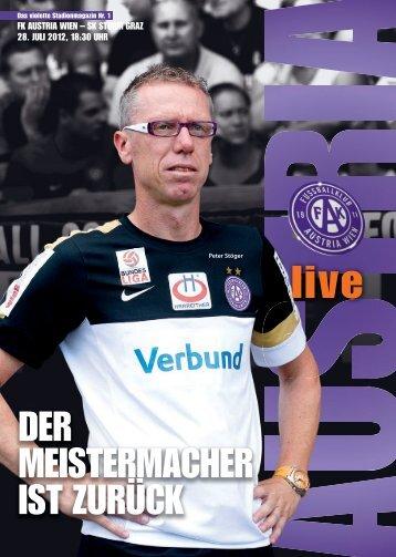 AUSTRIA LIVE 1 2012/13 - Sturm Graz - FK Austria Wien