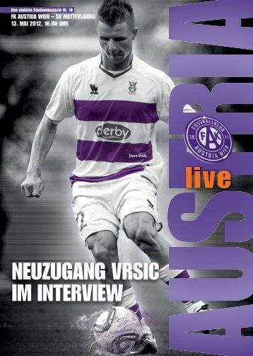 SV Mattersburg - FK Austria Wien