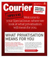 Courier July 2013 - myroyalmail