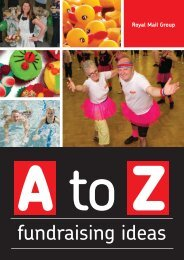 A-to-Z-fundraising-ideas - myroyalmail
