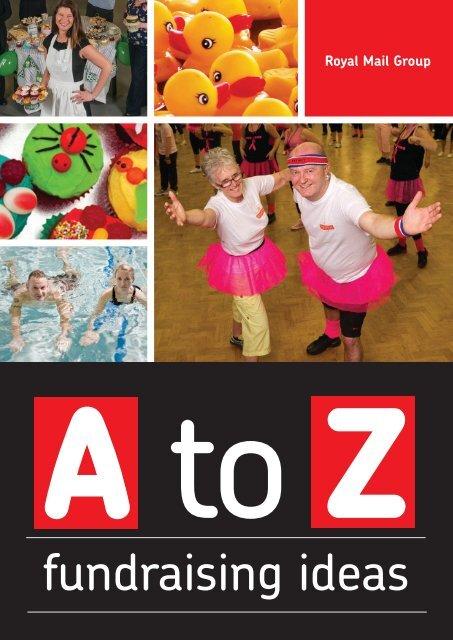 A-to-Z-fundraising-ideas - myroyalmail