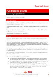 fundraising-grant-guidelines - myroyalmail