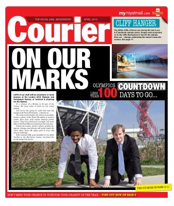 Courier April 2012 - myroyalmail