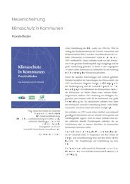 Bestellformular - Klimaschutz in Kommunen - Praxisleitfaden