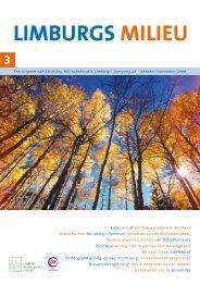 Limburgs Milieu nr. 3 2009 - Milieufederatie Limburg