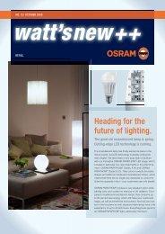 watt's new ++ - Osram