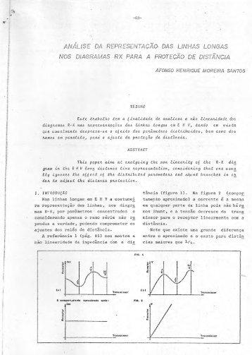 Análise da representação das linhas longas nos diagramas rx para ...