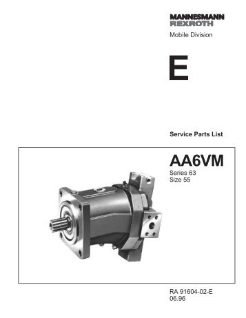 AA6VM55 Series 63 - DDKS Industries, hydraulic components ...