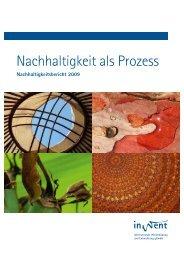 Nachhaltigkeit als Prozess - InWEnt ... - Trifolium