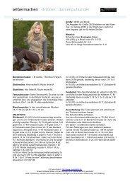 selbermachen : stricken : damenpullunder
