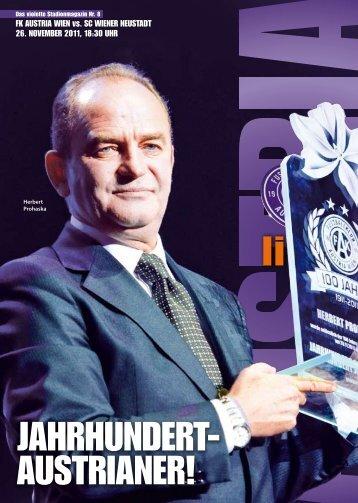 Magazin - FK Austria Wien
