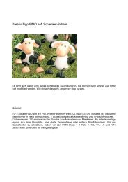 FIMO Figuren Schafe - Buttinette