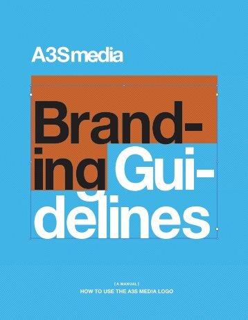 A3S Media: Branding Guidlines