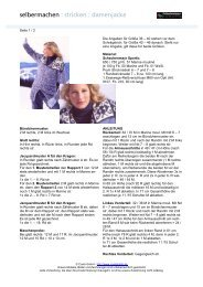 selbermachen : stricken : damenjacke - Coats GmbH
