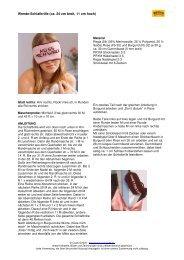 schlafbrille_wende regiasilk - Coats GmbH