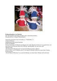 Weihnachtsmänner aus Maschen Das sind eigentlich echt lustige ...