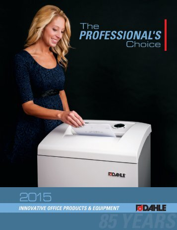 Innovative Office Products & Equipment - Dahle North America