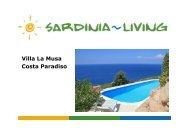 Villa La Musa Costa Paradiso - Sardinia Living