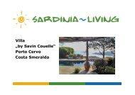 "Villa ""by Savin Couelle"" Porto Cervo Costa Smeralda - Sardinia Living"