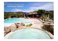 Villa Panarea - Sardinia Living