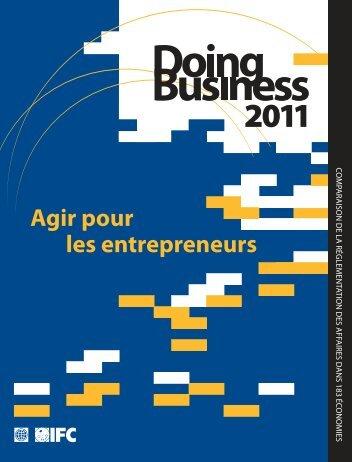 Agir pour les entrepreneurs - Doing Business
