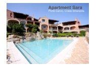 Apartment Sara - Sardinia Living