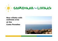 New villetta with wellness area at the Costa Paradiso - Sardinia Living