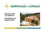 "Exklusive Villa ""Lu Lignamu"" Grundstück mit ... - Sardinia Living"