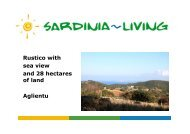 Rustico with sea view and 28 hectares of land ... - Sardinia Living