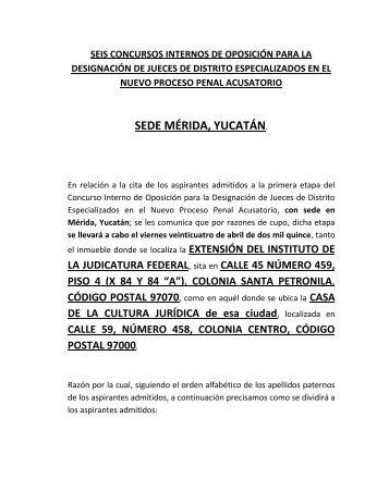 AVISO IMPORTANTE(registroasistencia)Mérida