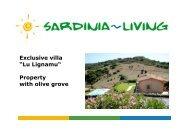 "Exclusive villa ""Lu Lignamu"" Property with olive grove - Sardinia Living"