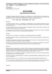 Statuten V.d.A. - KKUSH