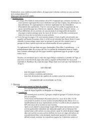 Nomination, sous conditions particulières, de juges pour ... - KKUSH