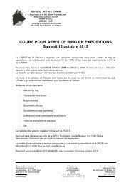 Cours - Aide de ring - 12.10.2013 - KKUSH