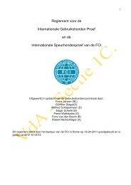 Reglement voor de Internationale Gebruikshonden Proef ... - KKUSH