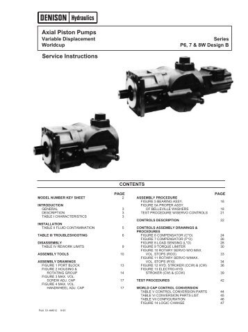 S1-AM012 - DDKS Industries, hydraulic components distributor