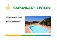 Villetta with pool Costa Paradiso - Sardinia Living