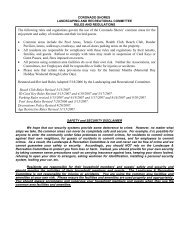 Revised Rules & Regulations - Coronado Shores Condominium ...